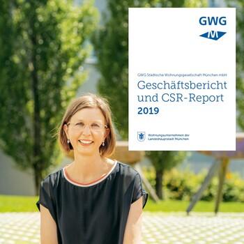 Titelbild GWG-Geschäftsbericht 2019