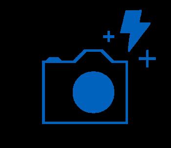 Symbol eines Fotoapparats