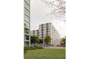 Perspektive Wettbewerbsbeitrag Bayernkaserne WA5 Beitrag 1008
