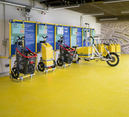 GWG-Mobilitätsstation in Ramersdorf