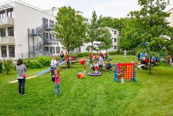 Mieterfest in der GWG-Siedlung Sendling-Westpark