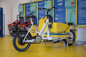 Innenansicht GWG Mobilitätsstation Ramersdorf