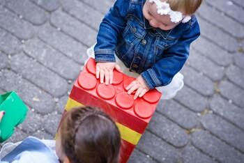 Spielende Kinder beim GWG-Sommerfest