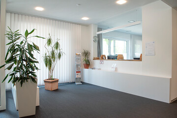 Empfangsbereich der GWG-Hausverwaltung Berg am Laim, Ramersdorf