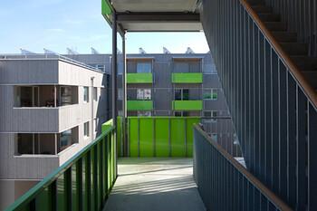 GWG-Modellprojekt in Holzbauweise, Sendling-Westpark