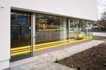 GWG-Mobilitätsstation Ramersdorf - Außenansicht